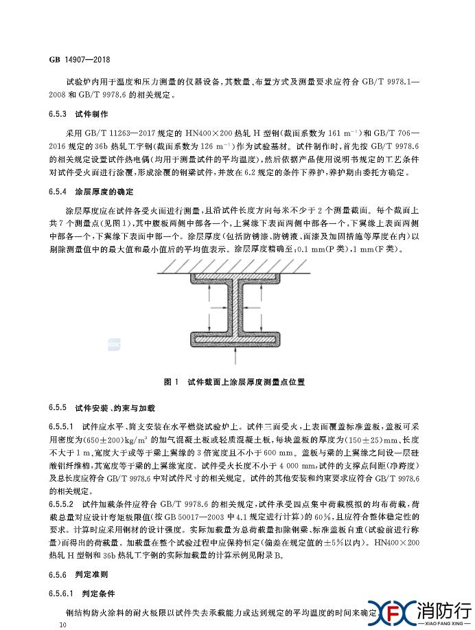 GB 14907-2018 《钢结构防火涂料》13